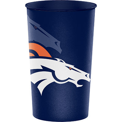 Denver Broncos 22oz Stadium Cup - NFL - Party Supplies - America Likes To Party