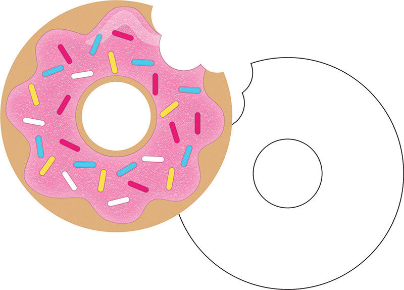 Donut Time Invitations 8ct - GENERAL BIRTHDAY PATTERNS - Party Supplies - America Likes To Party