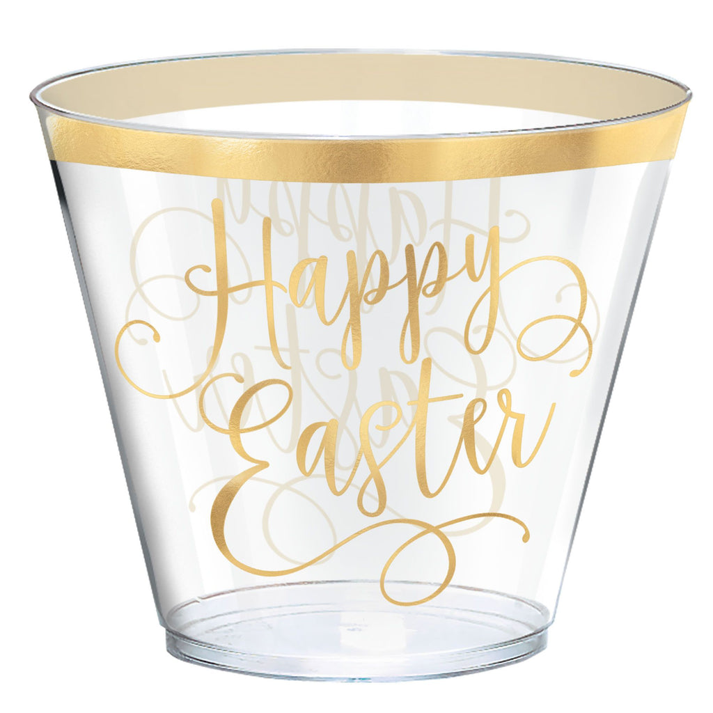 Gold Easter Tumblers