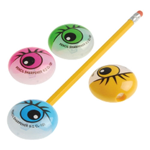 Eyeball Pencil Sharpeners 12ct - PACKAGED FAVORS - Party Supplies - America Likes To Party