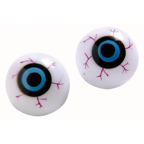 Plastic Eye Balls 12ct - PACKAGED FAVORS - Party Supplies - America Likes To Party