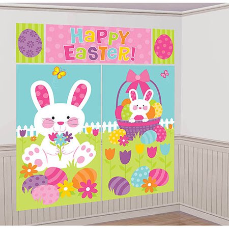 Five Piece Easter Wall Decor
