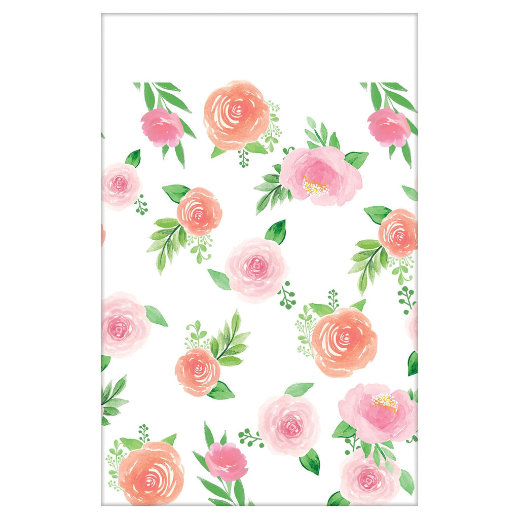 Floral Baby Table Cover