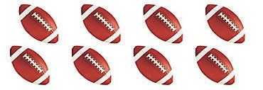 Football Value Pack Cutouts 12ct - FOOTBALL - Party Supplies - America Likes To Party