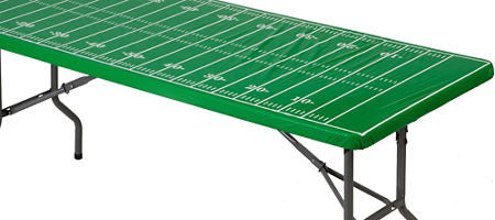 Football Field Fitted Tablecover - FOOTBALL - Party Supplies - America Likes To Party