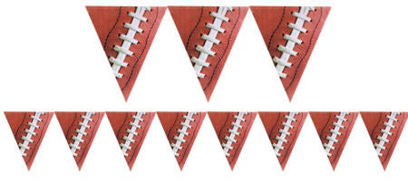 Football Pennant Banner - FOOTBALL - Party Supplies - America Likes To Party