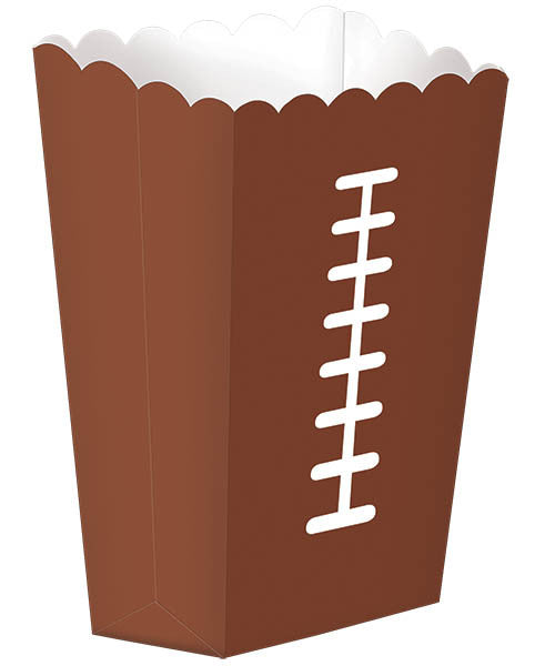 Football Snack Boxes 8ct - FOOTBALL - Party Supplies - America Likes To Party