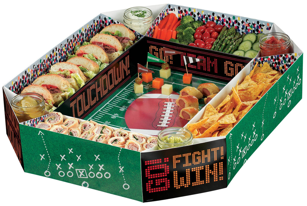 Football Snack Stadium - FOOTBALL - Party Supplies - America Likes To Party