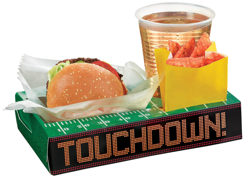 Football Tailgate Trays 8ct - FOOTBALL - Party Supplies - America Likes To Party