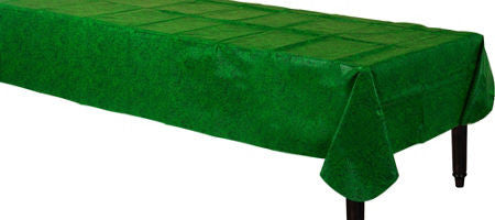 Grass Vinyl Tablecover - FOOTBALL - Party Supplies - America Likes To Party