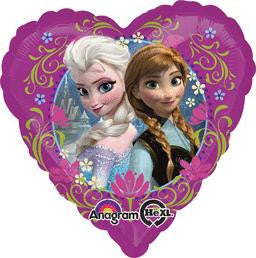 Frozen Heart Balloon - KIDS BDAY MYLARS - Party Supplies - America Likes To Party