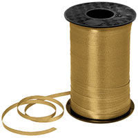 500YD Gold Curling Ribbon - RIBBON - Party Supplies - America Likes To Party