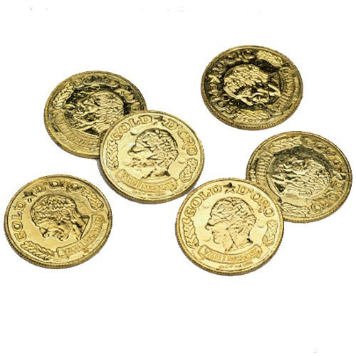 Gold Coins 144ct - PACKAGED FAVORS - Party Supplies - America Likes To Party
