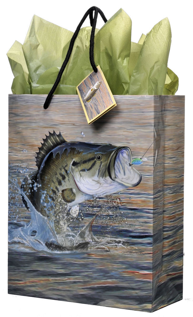 Gone Fishin' Gift Bag - BAGS GIFT WRAP - Party Supplies - America Likes To Party
