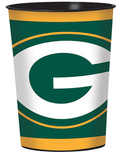 Green Bay Packers 16oz Plastic Cup - NFL - Party Supplies - America Likes To Party
