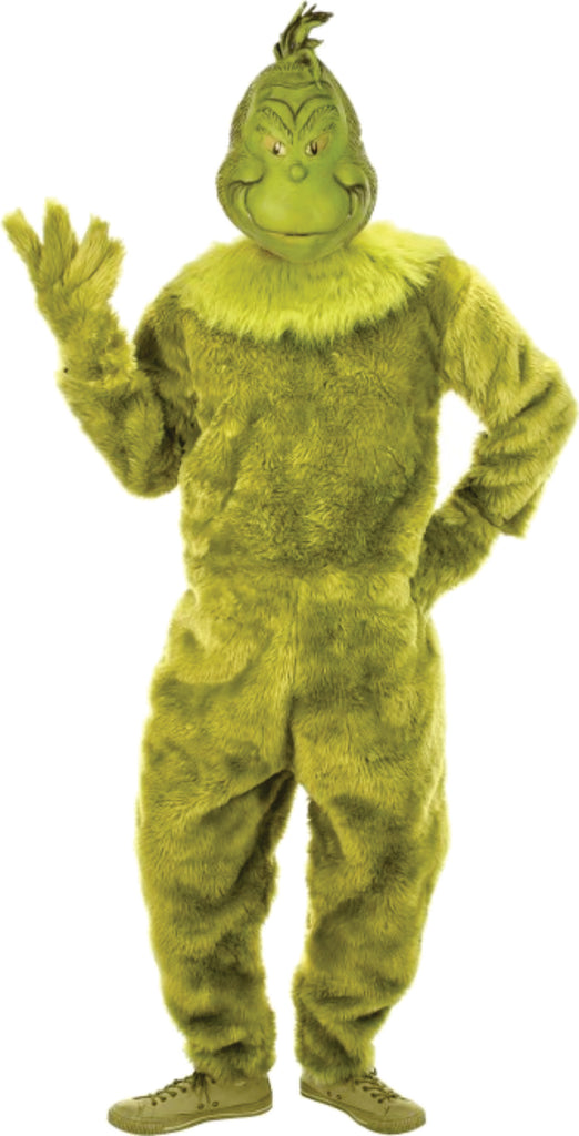 Deluxe Adult Grinch Costume Size L/XL