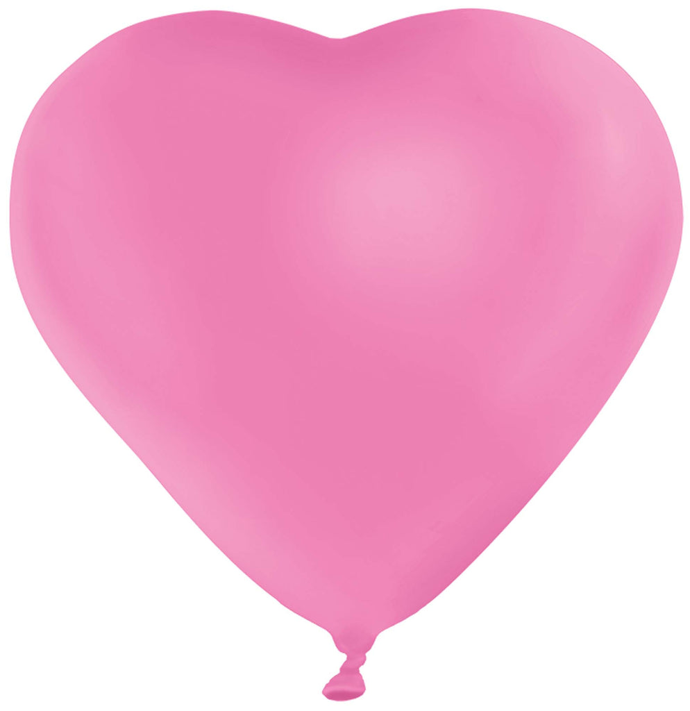 Pink Heart 6ct - BAGS LATEX - Party Supplies - America Likes To Party