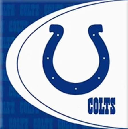 Indianapolis Colts Lunch Napkins 16ct - NFL - Party Supplies - America Likes To Party