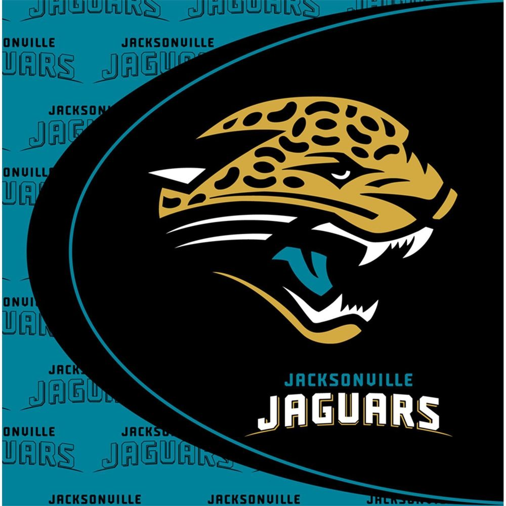 Jacksonville Jaguars Lunch Napkins 16ct - NFL - Party Supplies - America Likes To Party