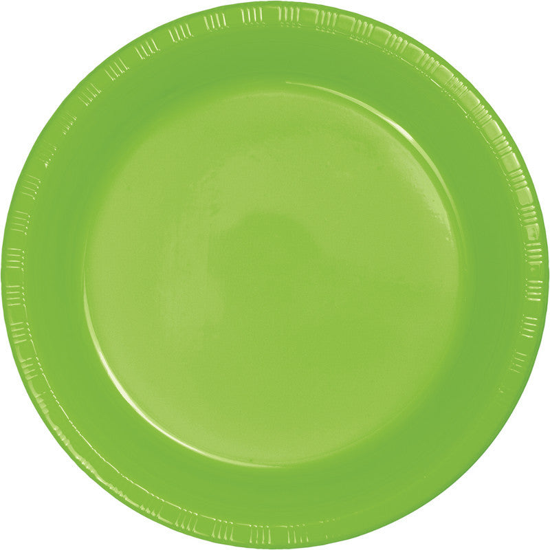 Kiwi Big Party Pack Plastic Dinner Plates 50ct - BIG PARTY PACKS - Party Supplies - America Likes To Party