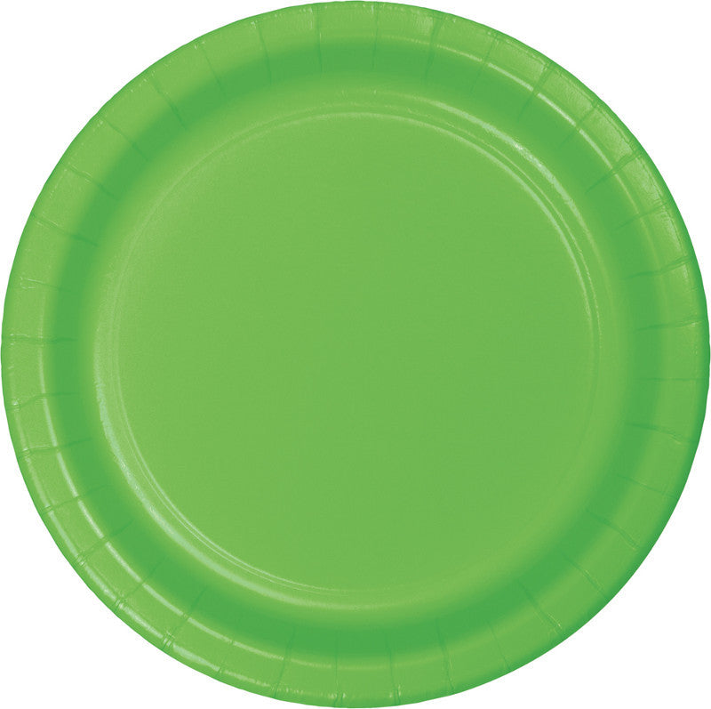 Kiwi Big Party Pack Paper Lunch Plates 50ct - BIG PARTY PACKS - Party Supplies - America Likes To Party