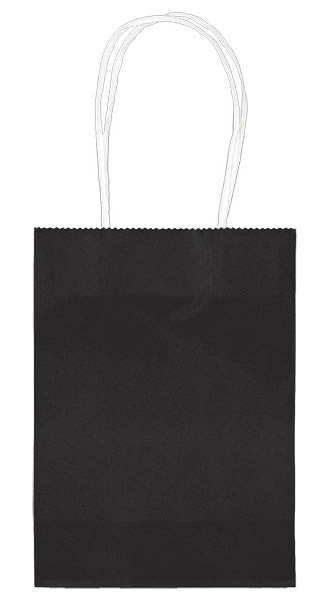 "Black 5"" Paper Kraft Bag - FAVOR BAGS/CONTAINERS - Party Supplies - America Likes To Party"
