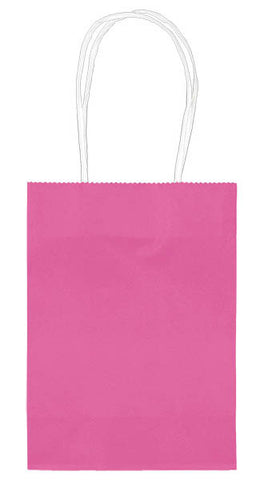 "Bright Pink 5"" Paper Kraft Bag - FAVOR BAGS/CONTAINERS - Party Supplies - America Likes To Party"