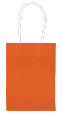 "Orange 5"" Paper Kraft Bag - FAVOR BAGS/CONTAINERS - Party Supplies - America Likes To Party"
