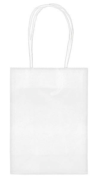 "White 5"" Paper Kraft Bag - FAVOR BAGS/CONTAINERS - Party Supplies - America Likes To Party"