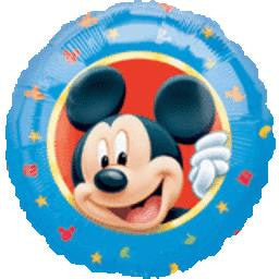 Mickey Mouse Balloon - KIDS BDAY MYLARS - Party Supplies - America Likes To Party