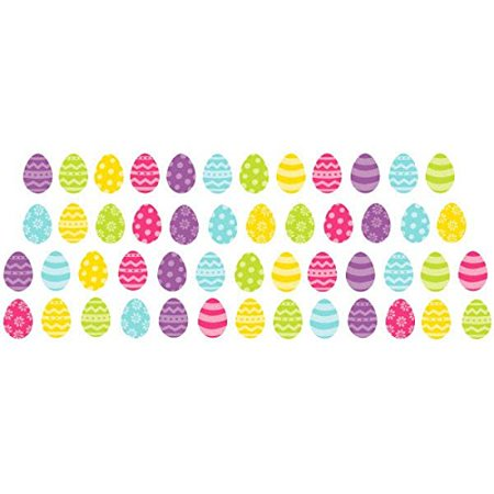 Mini Glitter Easter Egg Cut Outs
