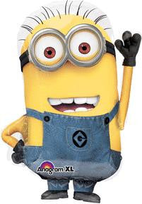 Minion Full Body Super Shape Balloon - KIDS BDAY MYLARS - Party Supplies - America Likes To Party