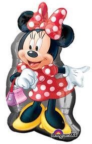 Minnie Mouse Full Body Super Shape Balloon - KIDS BDAY MYLARS - Party Supplies - America Likes To Party