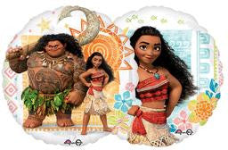 Moana Balloon - KIDS BDAY MYLARS - Party Supplies - America Likes To Party