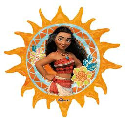 Moana Super Shape Balloon - KIDS BDAY MYLARS - Party Supplies - America Likes To Party