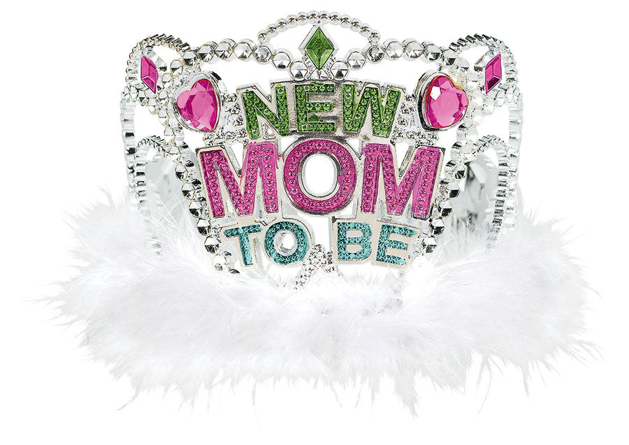 Mom To Be Tiara - ACCESSORIES BABY - Party Supplies - America Likes To Party