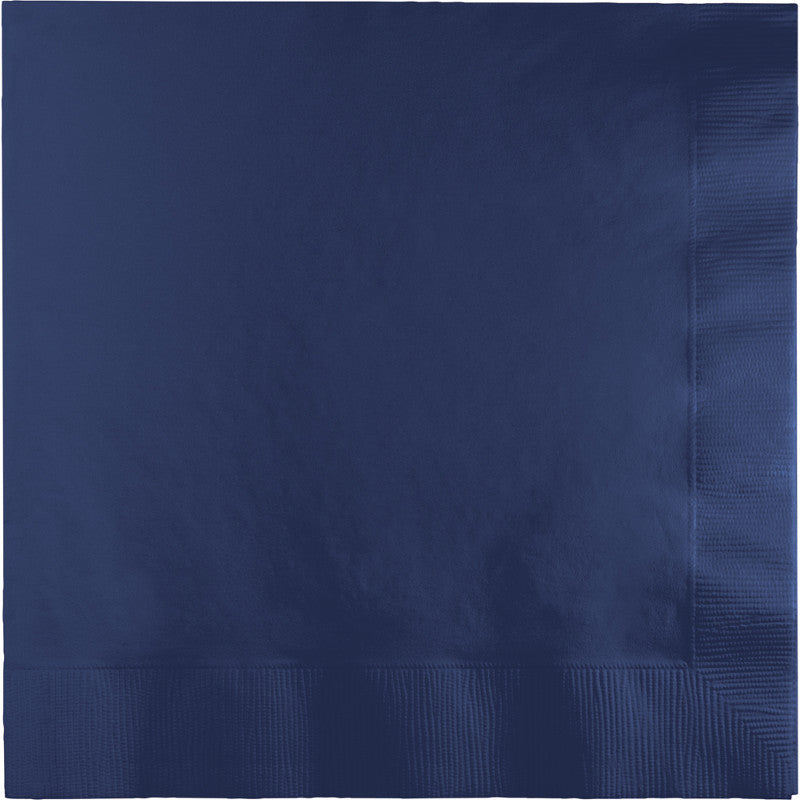 Navy Lunch Napkins 50ct - BLUE NAVY - Party Supplies - America Likes To Party