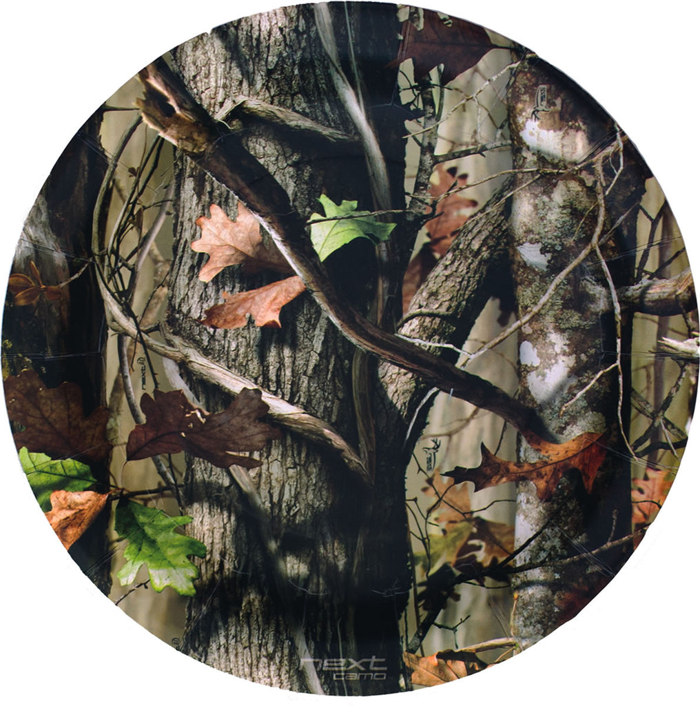 NEXT Camo Lunch Plates 8ct - MOSSY OAK - Party Supplies - America Likes To Party