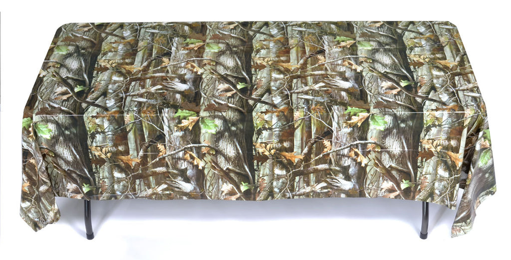 NEXT Camo Tablecover - MOSSY OAK - Party Supplies - America Likes To Party