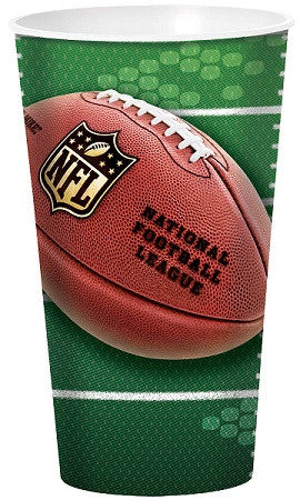 NFL 32oz Plastic Stadium Cup - FOOTBALL - Party Supplies - America Likes To Party
