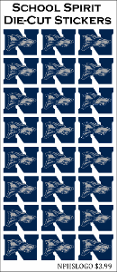 North Paulding High School 24ct Logo Stickers