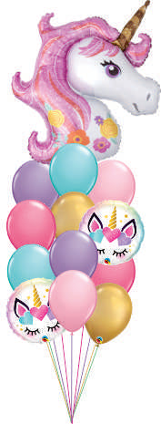 Unicorn Balloon Floor Bouquet OB1