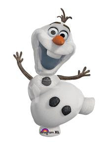 Olaf Super Shape Balloon - KIDS BDAY MYLARS - Party Supplies - America Likes To Party