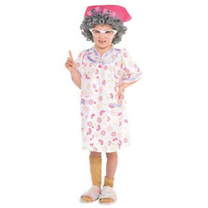 Little Old Lady Costume - Medium