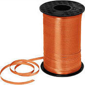 500YD Orange Curling Ribbon - RIBBON - Party Supplies - America Likes To Party