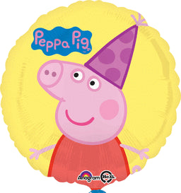 Peppa Pig Balloon - KIDS BDAY MYLARS - Party Supplies - America Likes To Party