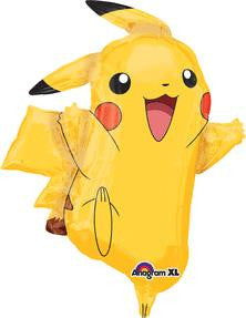Pokemon Pikachu Super Shape Balloon - KIDS BDAY MYLARS - Party Supplies - America Likes To Party