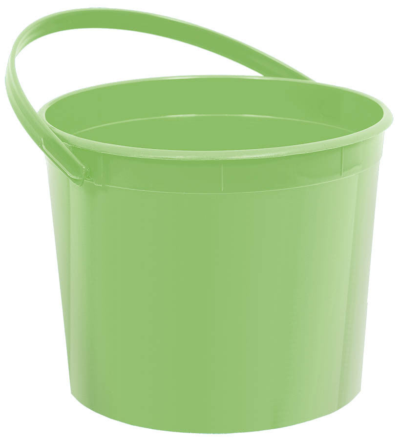 Kiwi Plastic Bucket - FAVOR BAGS/CONTAINERS - Party Supplies - America Likes To Party