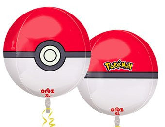Pokemon Orb - KIDS BDAY MYLARS - Party Supplies - America Likes To Party