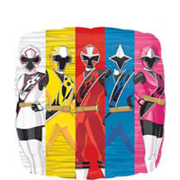 Power Rangers Ninja Steel Balloon - KIDS BDAY MYLARS - Party Supplies - America Likes To Party